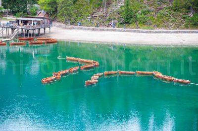Barche nel lago di Braies