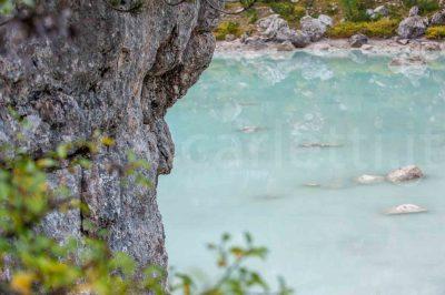 Dettaglio lago Sorapis
